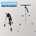 Good quality Aluminous Alloy projector shelf bracket with Adjustable Height