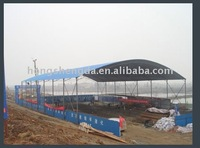 professional R&D team making prefabricated steel structure tent/house