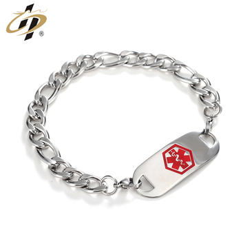 Wholesale custom silver metal enamel own logo stainless steel bangle for gifts