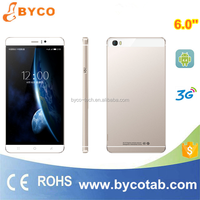 low price china mobile phone 6 inch big touch screen android 4.4 smartphone