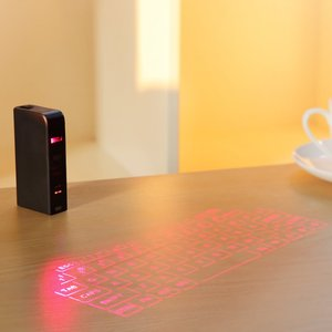 Wireless Cheap Bluetooth Portable Laser Virtual Keyboard With CE ROHS FCC