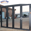 China aluminium thermal break movable sliding interior door folding partition wall