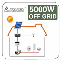 5000W off-grid home Solar power / energy / panel system 5kw