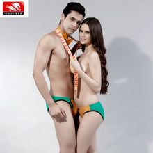 Hot selling sexy couple underwear .high quality smotthing 100% modal womens panties for men