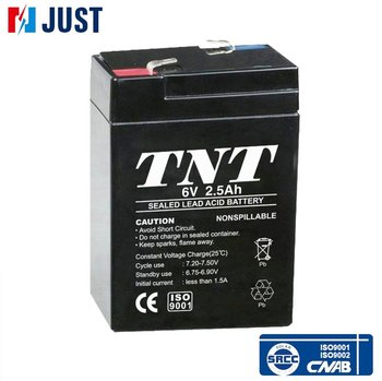 High quality deep cycle sealed lead acid 6v 2.5ah battery prices