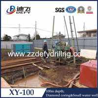 DEFY BRAND Most Portable XY-100 hand water well drilling equipment