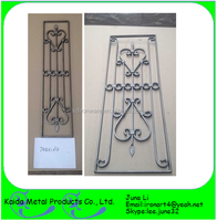 home safety wrought iron door security grills for windows