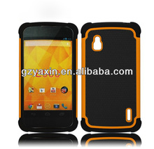 Cute case for lg nexus 4,phone case for lg nexus 4 factory wholesale