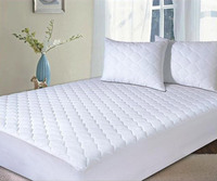 water proof quilted bed mattress cover/comfort spring mattress