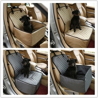 luxury pet car seat cover, China factory wholesale pet car seat protector, top sale pet car seat
