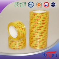 BOPP Easy Tear Transparent Office Stationery Tape