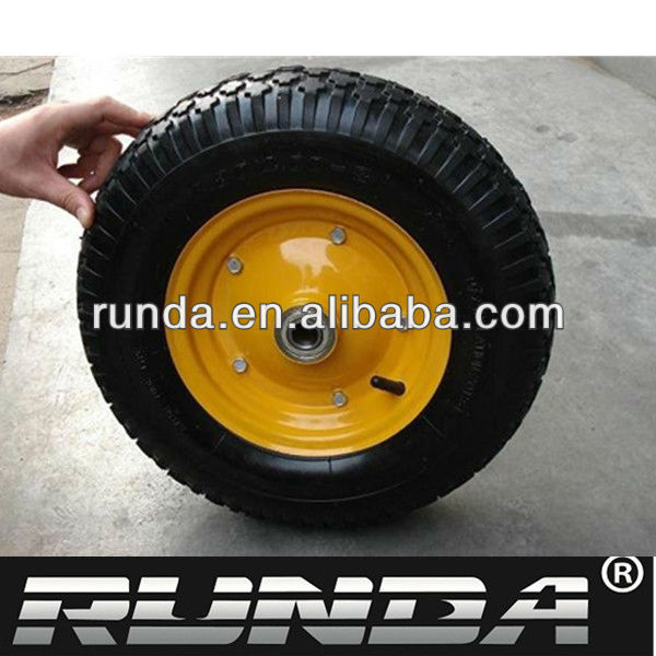 used for a long time wheelbarrow wheel and axles