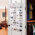 72 Pockets Double-sided hanging jewelry organizer