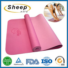 Wholesale fashion design fitness mat yoga mat