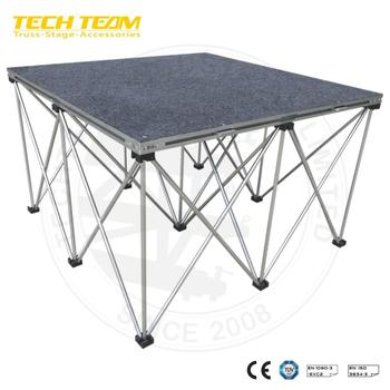 TECHTEAM Carpet Riser STX Folding Stage Producer