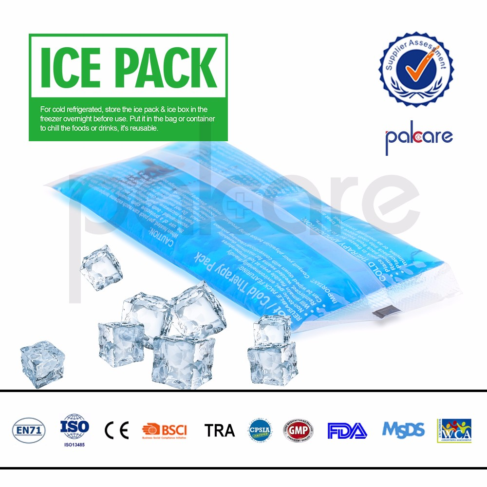 colorful gel ice hot cold packs for food storage