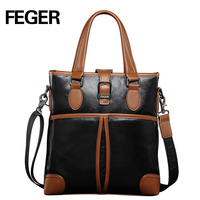 Good Quality Chinese Suppliers Genuine Leather Handbag For Men's