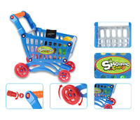 Shopping Cart Toy, Plastic Shopping Cart, Supermarket Trolley Toys