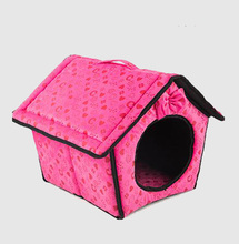 2017 New arrival puppy kennel two sides soft indoor washable pet house