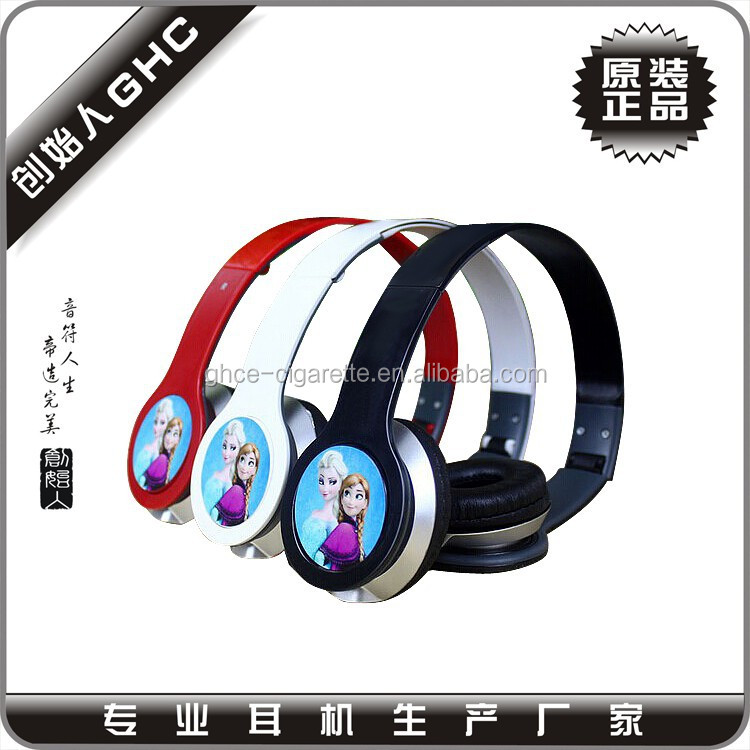 kids headphone with Frozen for promotion, Frozen headset for promotional, Children headphones