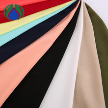 newest colorful 100 polyester wool price of woven fabric for aba