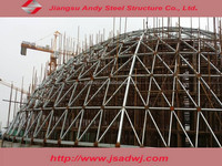 Dome Steel Space Frame Coal Storage Roofing