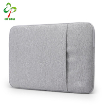 High quality waterproof fabric side pocket felt laptop sleeve, wholesale polyester laptop bag for men