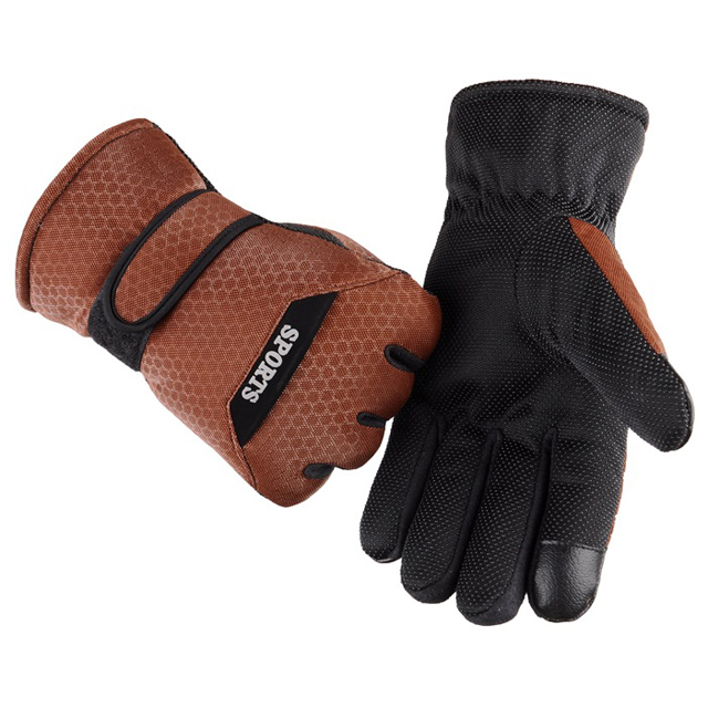 Customeizable Men Winter Warm Sports Waterproof Snow Motorcycle Snowboard Ski Bike Gloves