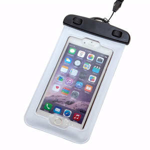 Eco-Friendly Sensitive PVC Touch Screen Fingerprint Unlock Waterproof Phone Case