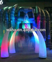 Inflatable arch for 2013 Halloween's decoration