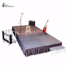 Concert Set Temporary Rock Portable Church Stage Design