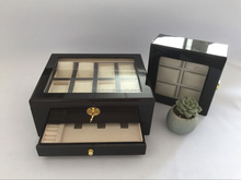 top quality wooden multiple watch storage box