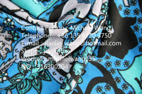 Jishengxiang Textile Super Stretch Poly 100D FDY Spandex Printed Floral Design Jacquard Fabric For Underwear