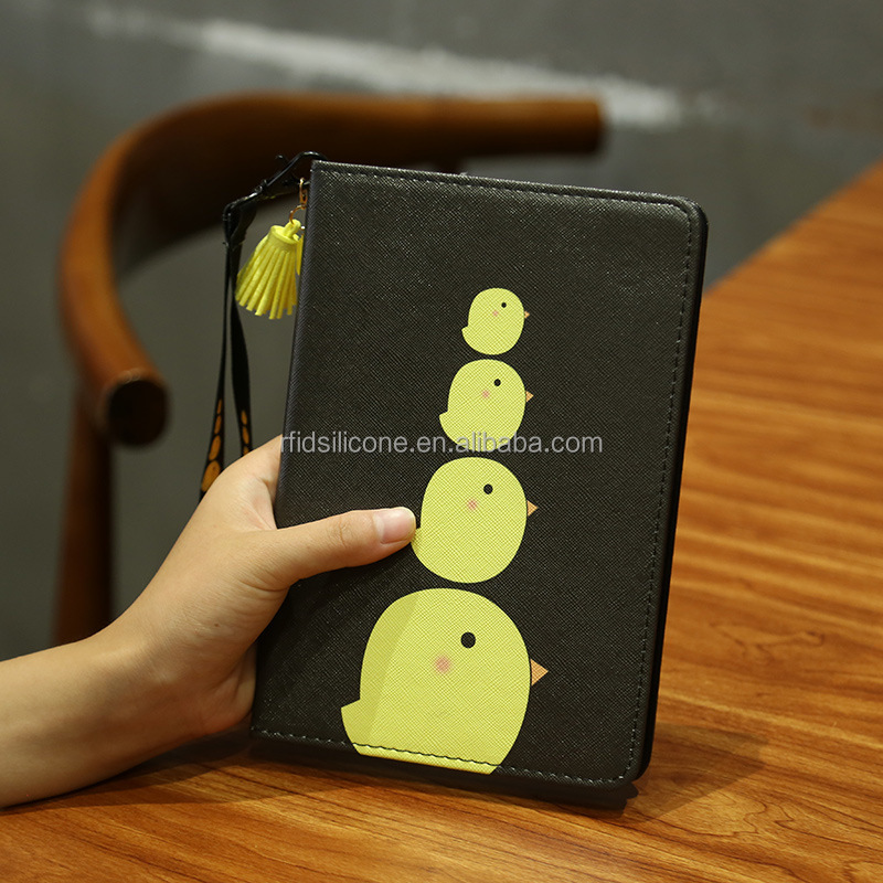 Hot Sale For iPad mini Slim Leather Case Magnetic Flip Book Leather Case with Hard Back