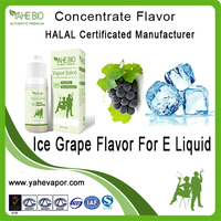 Wholesale ice grape flavour concentrate for e cig liquid, pg vg basic ice fruit flavor
