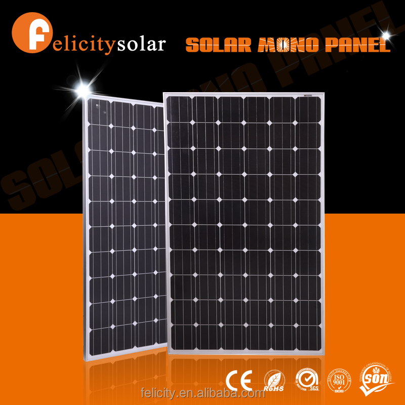 Hot sell low price light weight monocrystalline sun power solar panel 250w