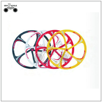 OEM colorful bicycle one wheel 26inch magnesium alloy wheel