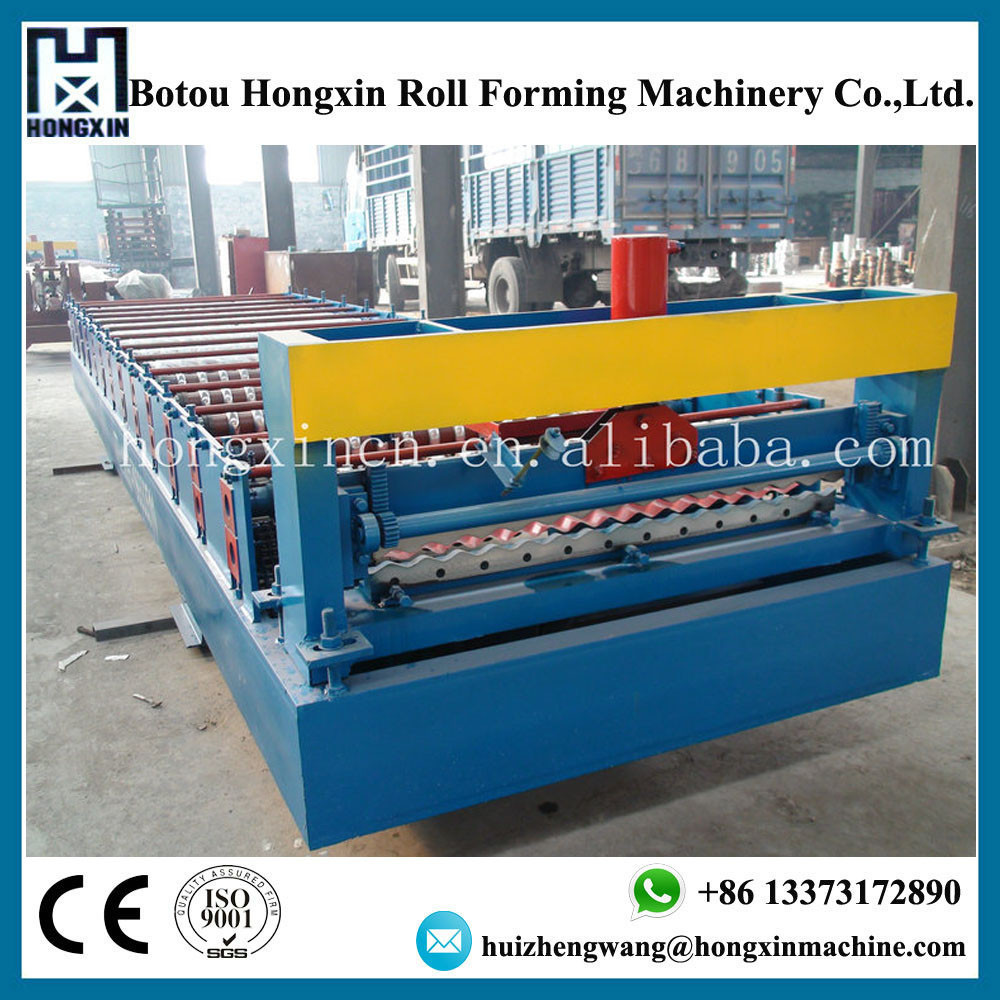 Automatic Metal Corrugated Iron Sheets Used as Roof Sheet Panel Roll Forming Machine for Sale