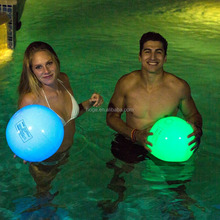 inflatable glow pvc beach ball,light up beach ball