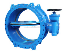 Double Flanged Double Eccentric butterfly valve