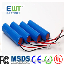 EWT Accept OEM li ion battery 3.7v 280mah ICR 14250 li-ion rechargeable lithium ion battery