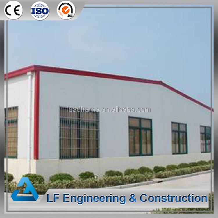 Lightweight steel frame prefabricated warehouse building
