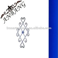 cast steel flower panel for staircase,gate,fence,window,door