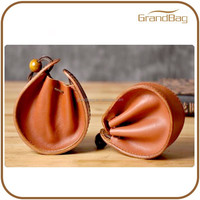 min bag design handicraft Leather Coin Purse