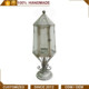 Large Retro Metal Garden Candle Lantern