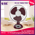 Wholesale custom low power consumption oscillating 12v dc table fan