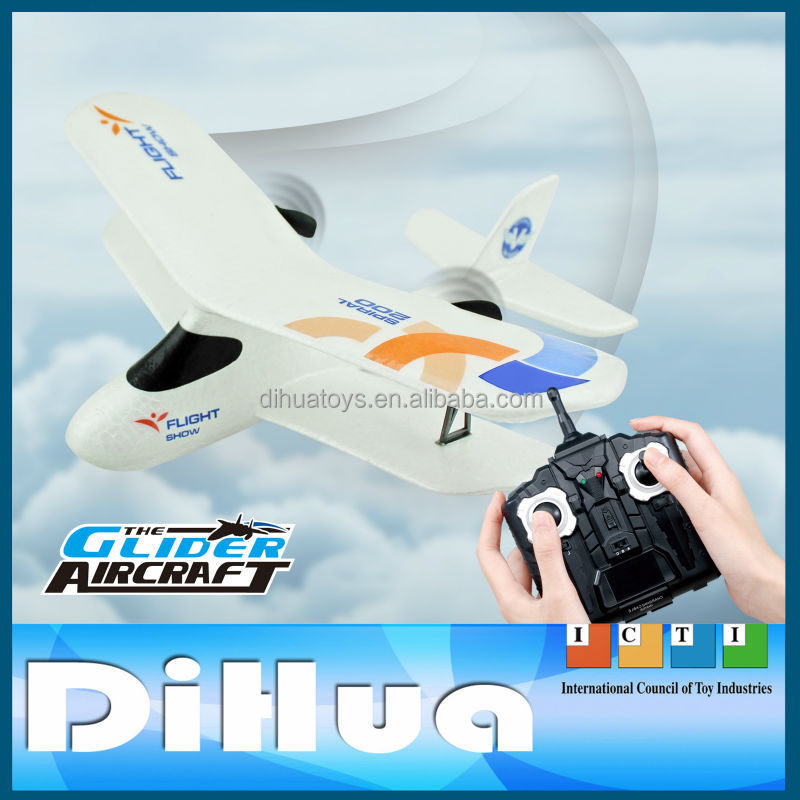 Drone Helicopter Electric Flying toys, 2.4Ghz 2CH RC Glider