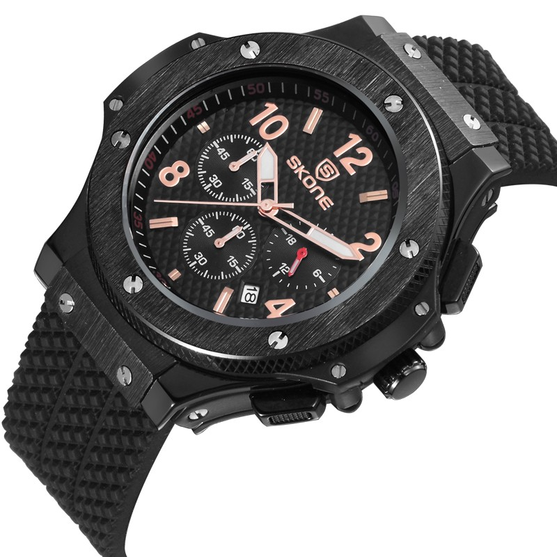 2017 alibaba hot selling swiss style chronograph military watch