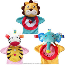 super soft plush Material and <strong>animal</strong>,educational toys Type kids <strong>animal</strong> hand puppets
