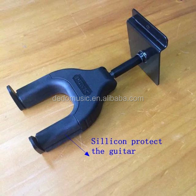 auto lock guitar hanger for wall or frid